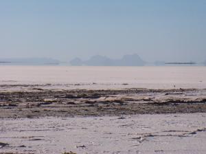 the salt flats - two meters below sea level
