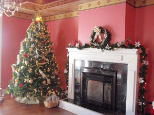 Christmas in the Beckwith ballroom