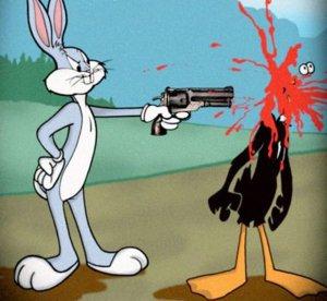 bugs bunny gun