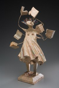 """Voracious Reader"" Book Sculpting by Kathy Ross"