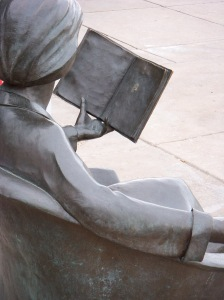 """The Reading Chair"" by Tuck Langland Jefferson County Library"