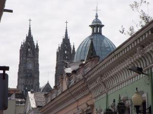 The Gothic National Basilica is impressive, but seems a continent out of place.