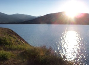 Sunrise over Lake Dillon
