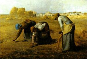 """The Gleaners"" Jean-Francois Millet, 1857"