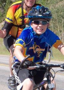 2013 - You are never too young to ride for a brother or sister.