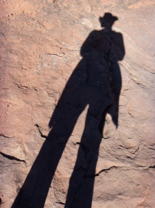 I walk tall in Red Rock country.