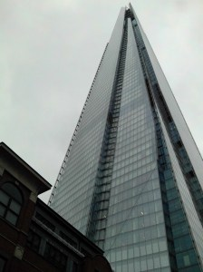 The Glass Shard in London, not in Westcliffe. The tallest building in the European Union