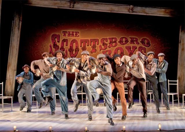 The Scottsboro Boys at the Garrick Theatre, London - photo: Henry DiRocco