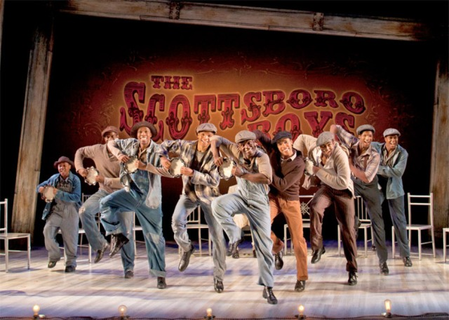 The Scottsboro Boys at the Garrick Theatre, London - photo: Henry DiRocco