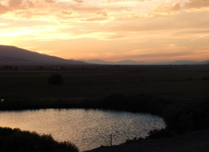 Day is Done... Gone the Sun... from the Bluff... to Mt. Princeton and the Chalk Cliffs.