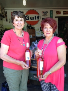 Jo Gearhart and Julie Stamper recommend the White Cabernet at Colterris Winery in Grand Junction