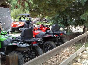 Step right up! ATVs await your custom.