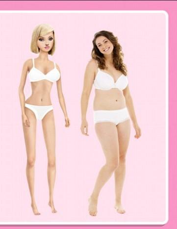 2016 barbie vs real