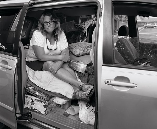 2020 04 homeless in car