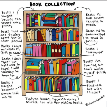 book collection - Ruth